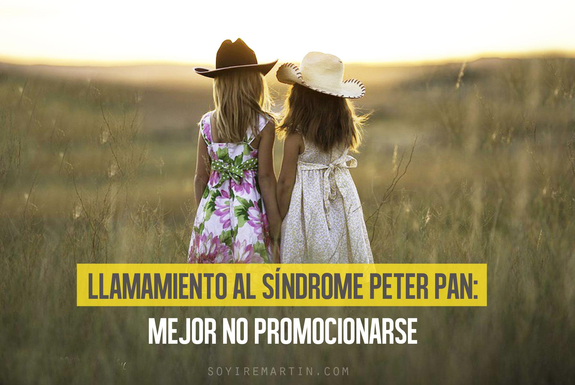 niñas atardecer síndrome peter pan