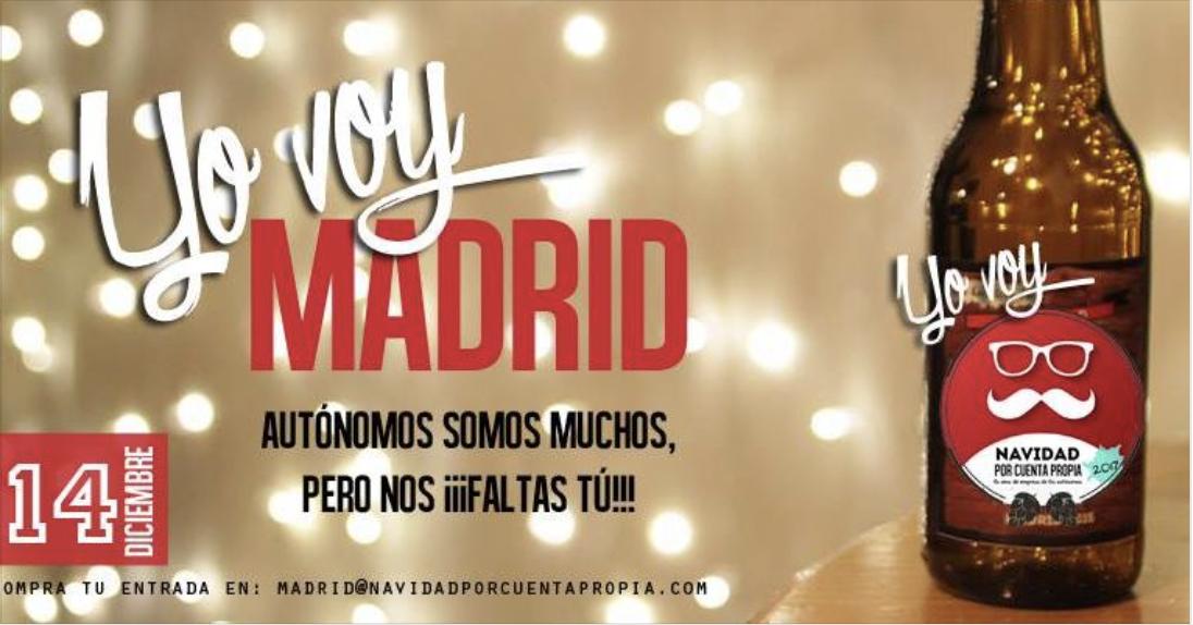 Navidad por cuenta propia Madrid